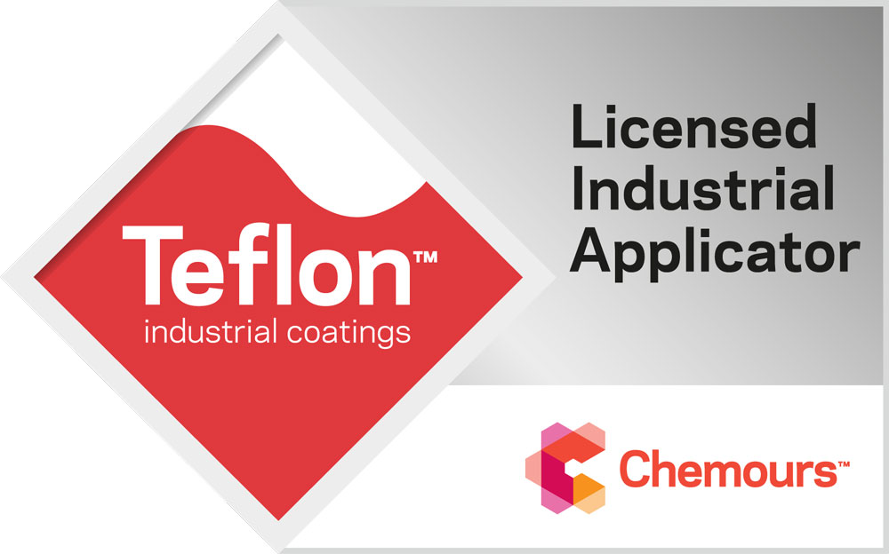 Matrix Coatings is an elite Licensed Industrial Applicator of Teflon coatings - industrial coating applicators